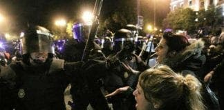 anti austerity protests in madrid