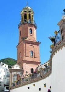 Competa's 16th century church