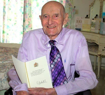100-year-old expat healthy and happy, thanks to sunshine and brandy