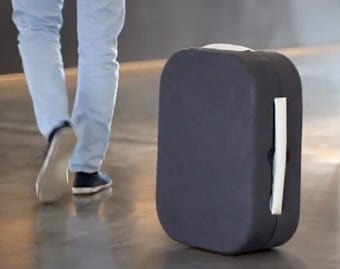 Spanish designer invents luggage you do not need to carry