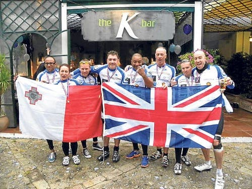 British cycling team complete charity ride to Spain
