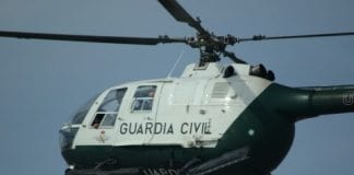 man facing prison for firing fireworks at guardia civil helicopter