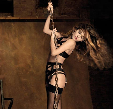 Lingerie collection lauched by Cruz sisters