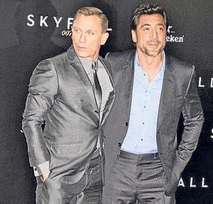Bond film Skyfall lands in Madrid