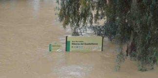 rain flooding malaga november