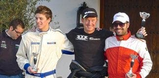 Ascari winner Peter Bowerman colour