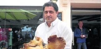 FOOD giant mushroom Ronda e