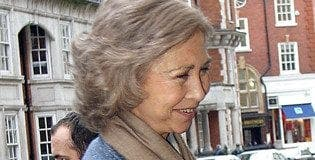P queen sofia in london previous trip e