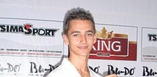 Taekwondo star Kieran Taylor