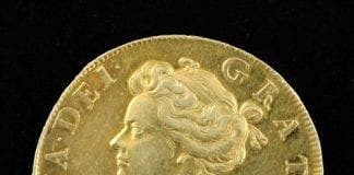 british pensioner finds coin in husbands chest of drawers