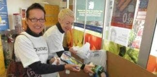 gran recogida bancosol collecting food supersol nerja