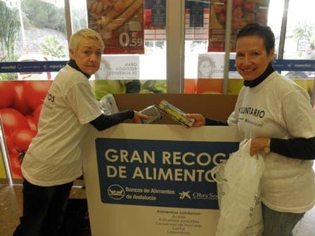 Malaga gives generously for food appeal
