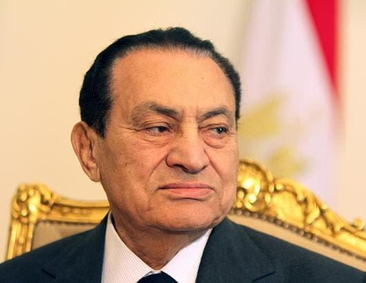 Spain blocks former Egyptian president's assets