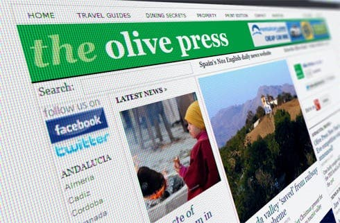 Online victory for Olive Press website