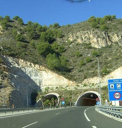 Similated accident proves Torrox tunnel is safe as houses