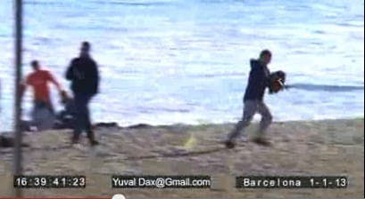 VIDEO: Barcelona thieves in action