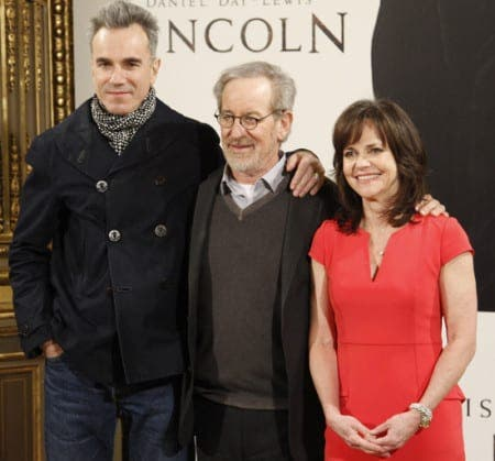 Spielberg brings Lincoln to Spain