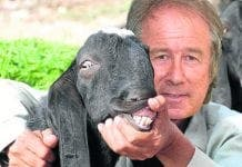 Maurice and goat e