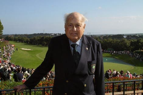 The father of major golf in Andalucia dies at 82