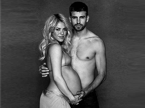Baby boy for Shakira and Pique in Barcelona