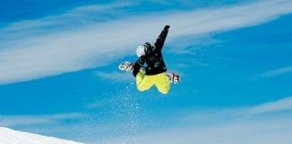 Sierra Nevada snowboarder