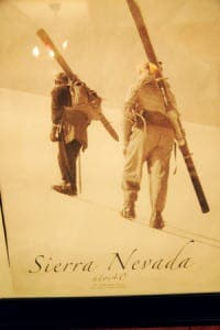 Sierra Nevada vintage skiers