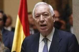 Spanish foreign minister garcia-margallo