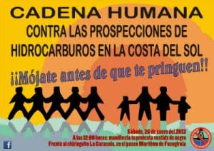 anti-drilling protest