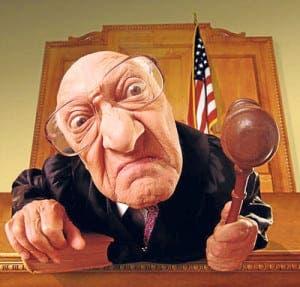 dodgy judge