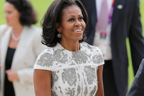 Michelle Obama steps out in a Spanish design
