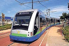 Velez-Malaga tram back on track