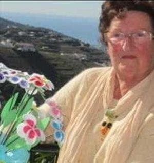 Pensioner attends her own funeral