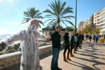 Anti-drilling group holds protest on Fuengirola coastline