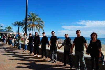Fuengirola protest2