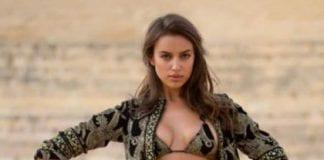 Irina Shayk matador