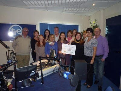 Charity telethon for cancer hospice