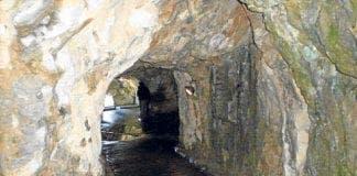 gibraltar siege tunnel