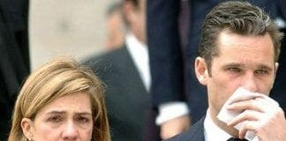 princess cristina and husband e