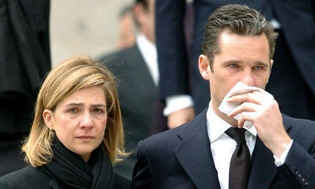 Princess Cristina's involvement in royal fraud case questioned
