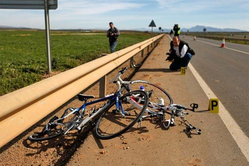 Two Ronda cyclists dead after being hit by car