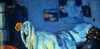 the blue room picasso e