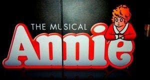 annie the musical e