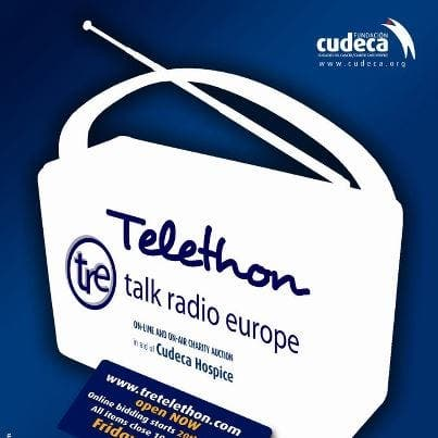 Annual Cudeca telethon underway today!