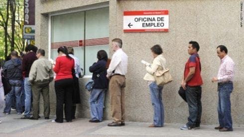 spain jobless e