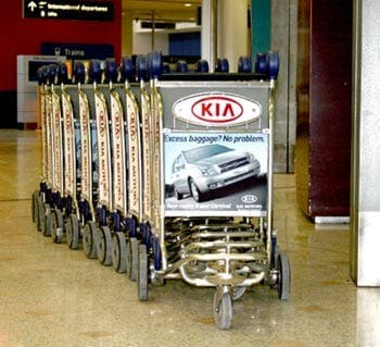 Seven Spanish airports to charge for luggage trolleys