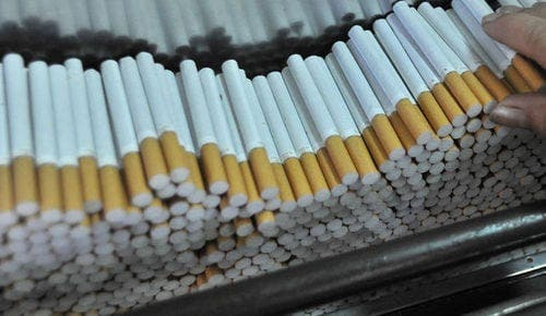50,000 cigarettes seized at Gibraltar's Eastern Beach
