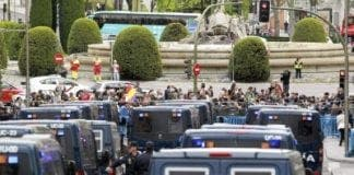Madrid protests e