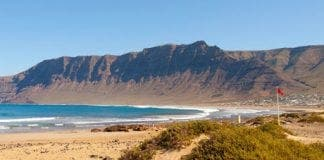 Playa de Famara beach Lan