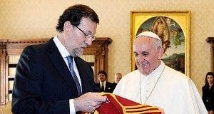 Pope and Rajoy