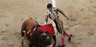 San Sebastian bull fighting